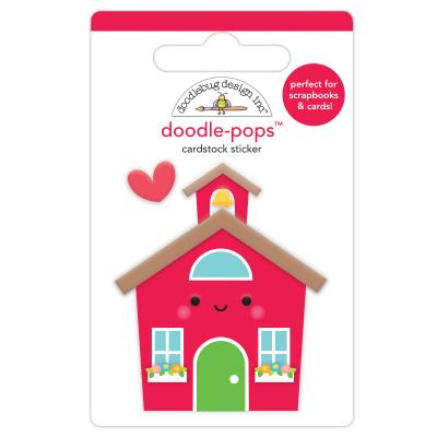 Doodlebugs School Days - School House